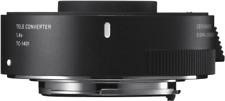 Sigma 1.4x TC-1401 Teleconverter: NIKON