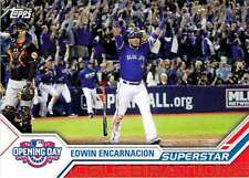 2017 Topps Opening Day Superstar Celebrations #SC-18 Edwin Encarnacion Blue Jays