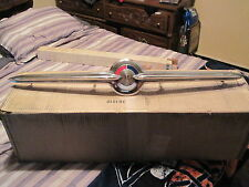 1957 BUICK SPECIAL CENTER BAR GRILL MOULDING  1174408 EXCELLENT SHAPE NICE CHROM