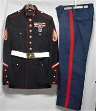 USMC Dress Blue Uniform W/Insignia