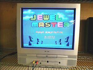 "20"" Flat Screen Retro Gaming Monitor With DVD.  Magnavox MSD520FE.  RCA Inputs."