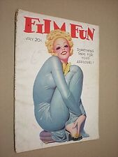 FILM FUN. JULY 1938. ENOCH BOLLES FRONT COVER ILLUSTRATION. HOLLYWOOD GLAMOUR
