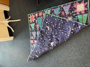 Patchwork Quilt 110cm x 110cm reversible