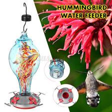 Bird Water Feeder Tree Glass Hummingbird Hanging Outdoor Wild Garden Yard Tool