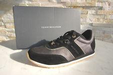 Tommy Hilfiger 36 zapatillas zapatos de cordones Sevilla negras nueva antiguo