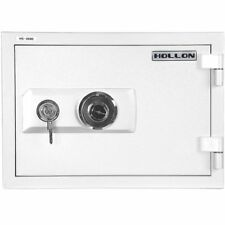 Hollon Safe 2-Hour Fire Home Combination Dial Safe 1 Cubic Feet - White HS-360D