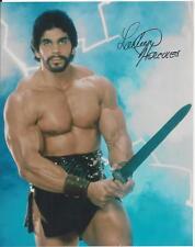 Lou Ferrigno - Hercules signed photo