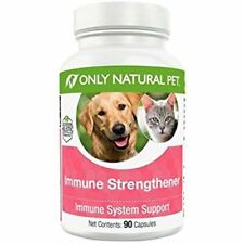 Only Natural Pet Immune Strengthener Immune system Support 90 Capsules