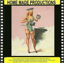 THE NEW SENSATION---MONIQUE DEVERAUX  VINTAGE GLAMOUR FILM VERY RARE 8MM COLOR