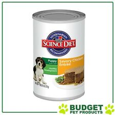 Hills Science Diet Cans Gourmet Chicken Entree For Puppy 370gm x 12