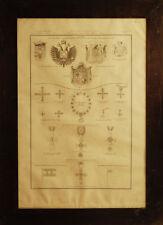 Stemmi dei Ducati di Parma, Modena, Lucca - Zuccagni Orlandini 1844 - 46x67