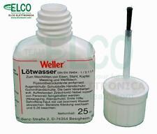 Flussante Saldatura Liquido Weller LW25 con pennello applicatore