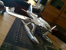 NEUF, SUPER MARINE s4, Schneider Trophy, - sculpture en aluminium, Art Deco Style