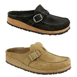 Birkenstock Buckley Suede Leather Moccasin-Style Clog - Choose Size & Color