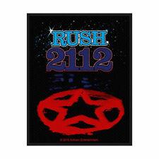 Rush 2112 Tissé Patch à Coudre Officiel sous Licence Bande March