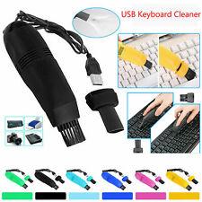 Mini Computer Vacuum USB Keyboard Cleaner PC Laptop Brush Dust Cleaning Tool Kit