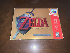 Nintendo 64 LEGEND OF ZELDA ,OCARINA OF TIME, COLLECTORS EDITION ,BOX ONLY