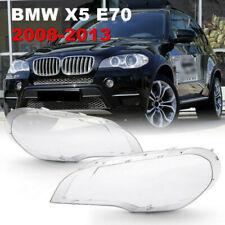2X Scheinwerferglas Für BMW X5 E70 2008-2013 Linsen Streuscheiben Abdeckung DE