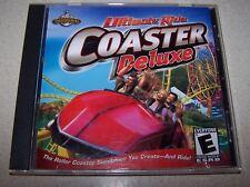 Ultimate Ride: Coaster Deluxe Jewel Case (PC, 2001)
