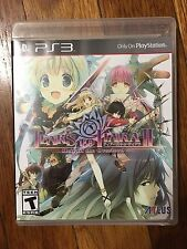 Tears to Tiara II: Heir of the Overlord (Sony PlayStation 3, 2014) COMPLETE