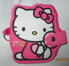 "Sanrio Hello Kitty Bifold Short Snap Wallet, Pink, 4"" x4"""