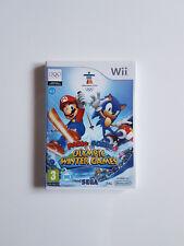 Mario & Sonic bei den Olympischen Winterspielen ►Nintendo Wii Spiel ► PAL ► OVP
