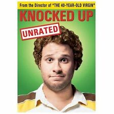 Knocked Up (DVD, 2007, Unrated and Unprotected Widescreen) New Sealed