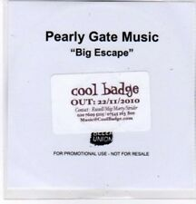(BQ720) Pearly Gate Music, Big Escape - 2010 DJ CD