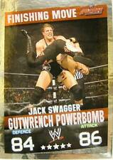 Slam Attax Evolution Jack Swagger Gutwrench Powerbomb