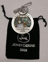 NEW 2008 John Deere Pewter Christmas Ornament NEW