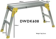 🆕✅ Prodec 800mm Aluminium Work Stand Step Up Platform Hop Bench Workstand 🚚💨