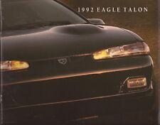 1992 92 Eagle Talon  original sales brochure