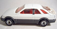 Matchbox No.55 Ford Sierra pre-production model in white unpainted base