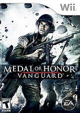 Nintendo Wii : Medal of Honor: Vanguard VideoGames