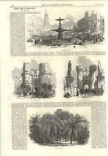 1866 Valencia Marketplace Orange Grove Gate Of Cuarte Serranos