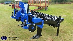 JSA Subsoiler Tramline Buster Two Leg With Packer Roller and Cutting Disks