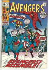 The Avengers #82 : VERY FINE : (Nov 1970, Marvel) Daredevil, Black Panther