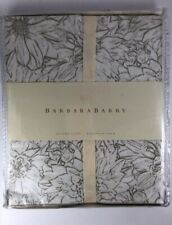Barbara Barry Nature Study Euro Pillow Sham, Graphite - Msrp $100 New