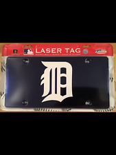 DETROIT TIGERS LASER TAG PLAQUE/LICENSE PLATE OFFICIALLY LICENSED