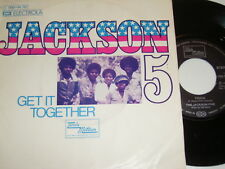 "7"" - Jackson 5 (with Michael) Get it Together & Touch - 1973 # 2014"