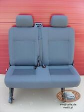 VW T5 Seat rear bench double Transporter anthracite Sitzbank
