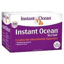 Sea Salt 200 Gallons Marine Aquariums Instant Ocean No Additives