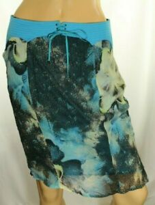 Versace Jeans Couture Women's Blue Skirt Size 26 / 40