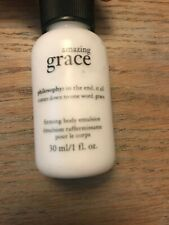 Philosophy Amazing Grace Firming Body Emulsion 30ml Sample