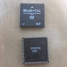 ULSI US83C87 FPU SX 16-40 Mhz Advanced Math Coprocessor 387 PLCC 80387