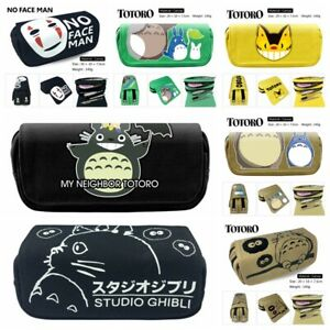 Anime Totoro Pencil Case Segeltuch Federmäppchen Kosmetiktaschen Fans Geschenk A