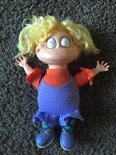 "Rugrats Angelica Stuffed Plush Doll 13"" Vinyl Head 1993 Vintage Nickelodeon"