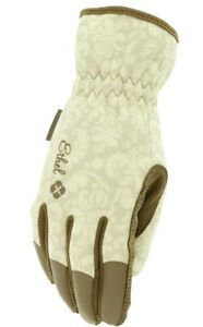 Mechanix Wear 911753 Womens Ethel Medium Garden Utility Gloves Brown Tan 1 Pair