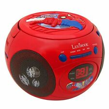 MARVEL SPIDERMAN RADIO CD PLAYER NEW by LEXIBOOK KIDS