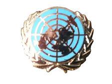 UN United Nations Lapel Badge Blue